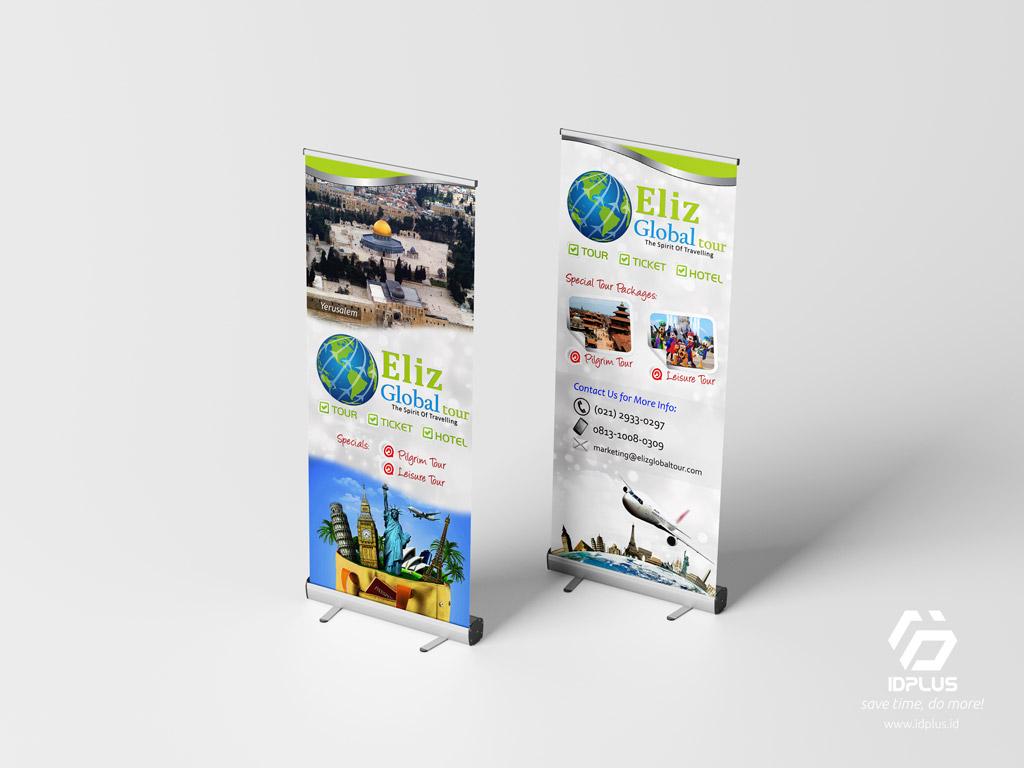 Desain Grafis - Graphic Design : Vertical Banner