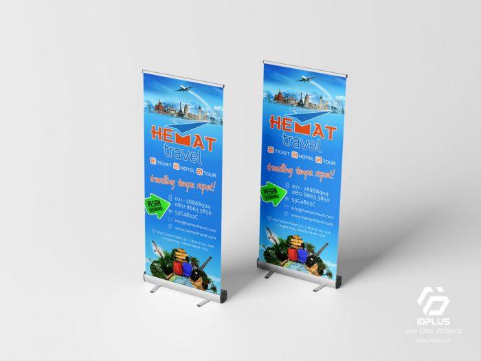 Desain Grafis - Graphic Design : Roll Up Banner