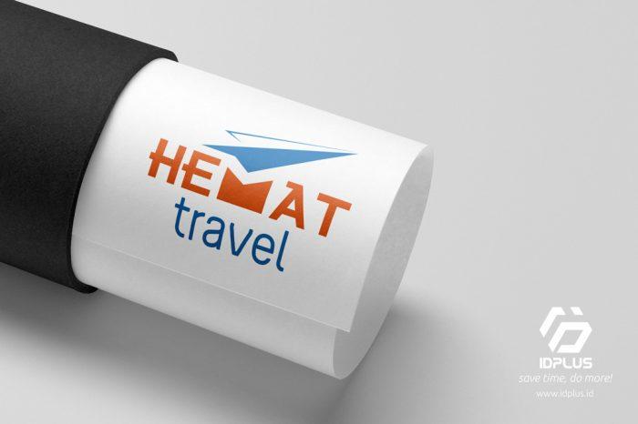 Desain Logo - Logo Design - HEMAT Travel