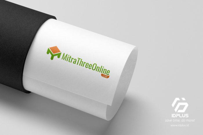 Desain Logo - Logo Design - Mitra Three Online
