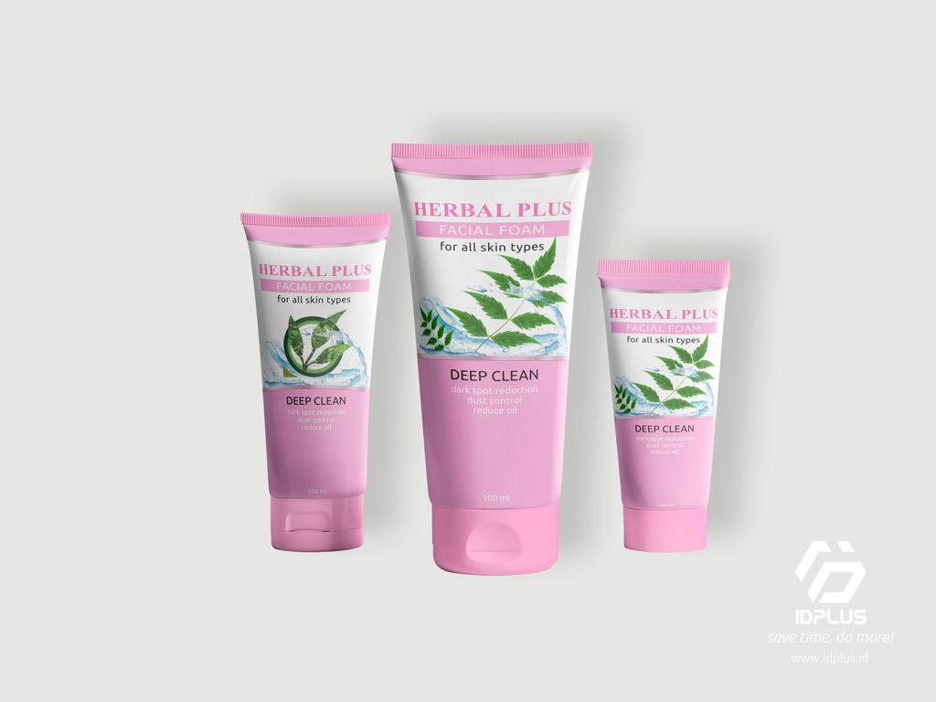 Desain Kemasan - Packaging Design : HERBAL PLUS
