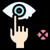 covid 19 - protokol kesehatan: tidak sentuh wajah